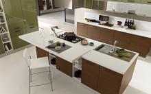 cocina_ice_light_roble_chocolate_verde_aguacate_isla_central